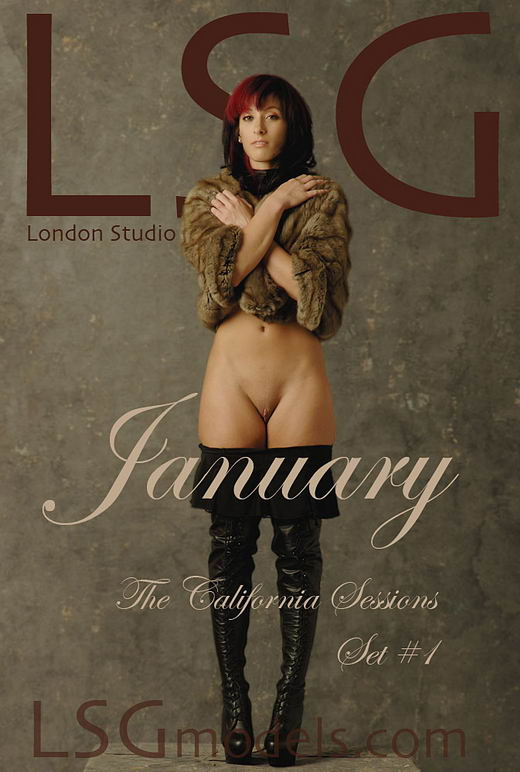January in The Californian Sessions Set #1 gallery from LSGMODELS