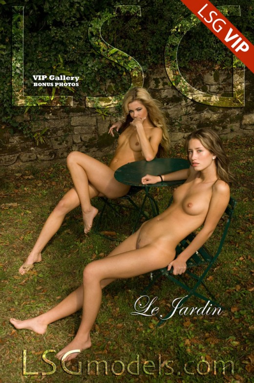 Mia & Nela & Ronni - `Le Jardin` - for LSGMODELS