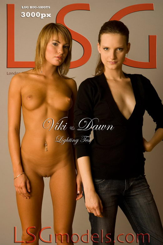 Viki & Dawn - `Lighting Test` - for LSGMODELS