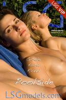 Gisele & Klara & Ronni - Poolside