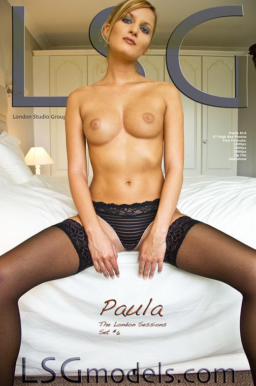 Paula - `The London Sessions Set #6` - for LSGMODELS