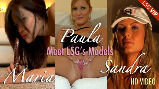 Maria & Paula & Sandra - `Meet LSG's Models` - for LSGVIDEO