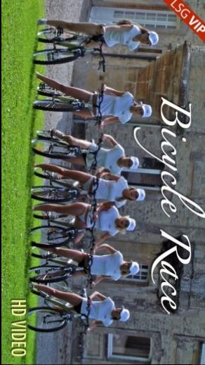 Ronni & Viki & Klara & Mia & Katerina & Nela & Gisele - `Bicycle Race` - for LSGVIDEO