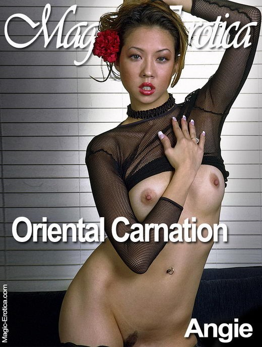 Angie - `Oriental Carnation` - by Luis Durante for MAGIC-EROTICA