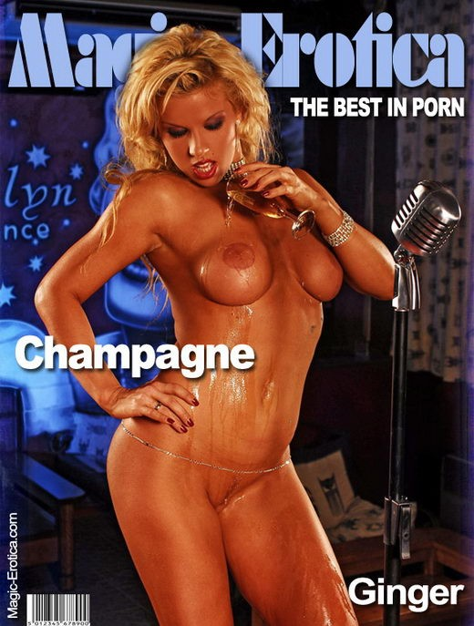 Ginger - `Champagne` - by Luis Durante for MAGIC-EROTICA