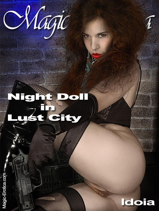Idoia - `Night Doll in Lust City` - by Luis Durante for MAGIC-EROTICA