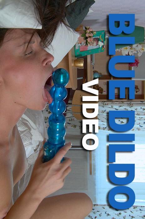 Idoia - `Blue Dildo` - by Luis Durante for MAGIC-EROTICA
