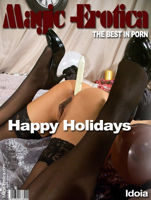 Idoia - `Happy Holidays` - by Luis Durante for MAGIC-EROTICA