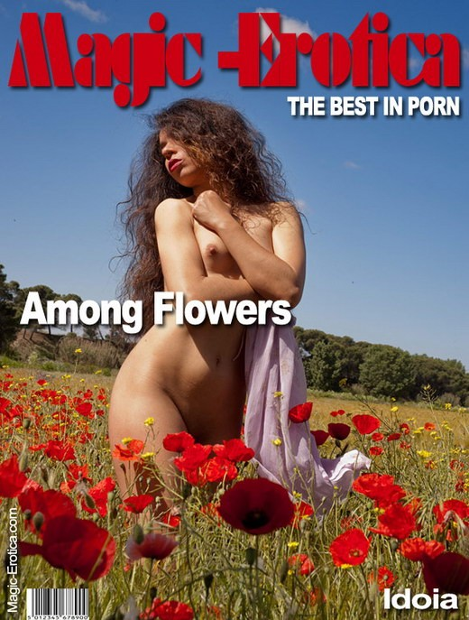 Idoia - `Among Flowers` - by Luis Durante for MAGIC-EROTICA