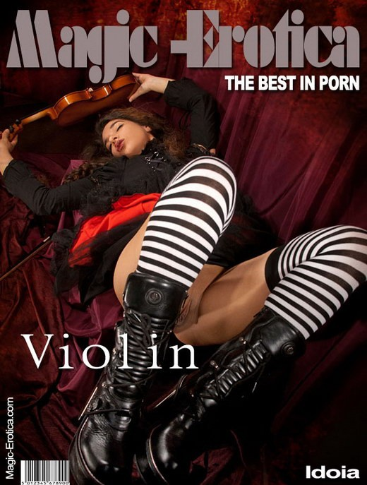 Idoia - `Violin` - by Luis Durante for MAGIC-EROTICA