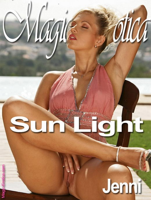 Jenni - `Sun Light` - by Luis Durante for MAGIC-EROTICA