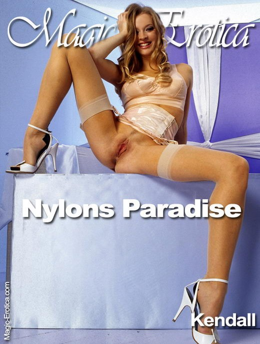 Kendall - `Nylons Paradise` - by Luis Durante for MAGIC-EROTICA