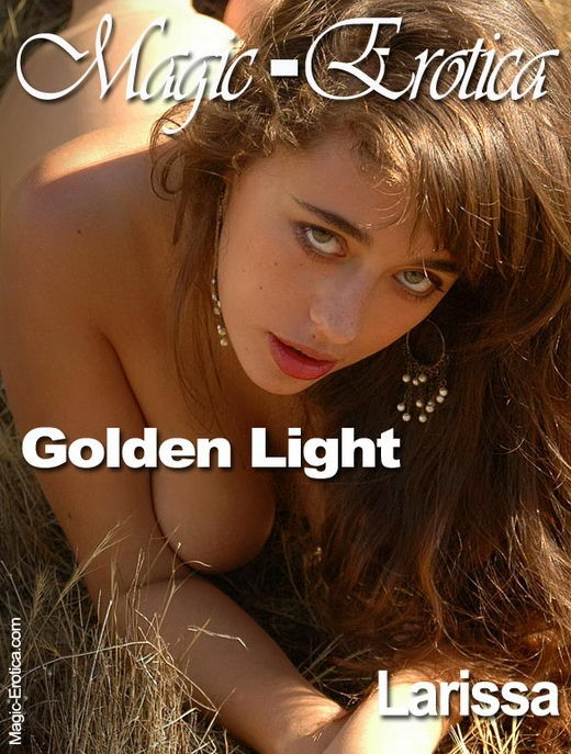 Larissa - `Golden Light` - by Luis Durante for MAGIC-EROTICA