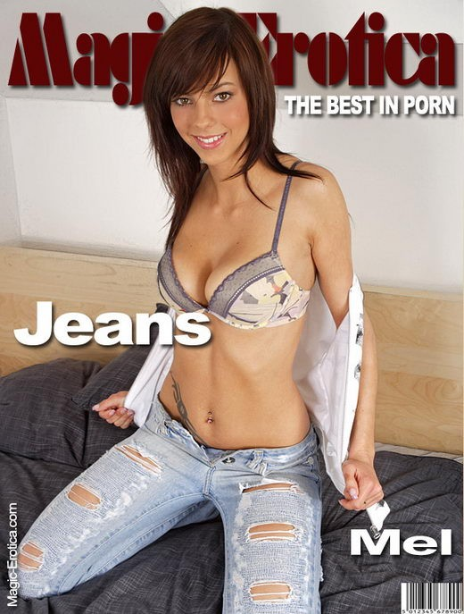 Mel - `Jeans` - by Luis Durante for MAGIC-EROTICA