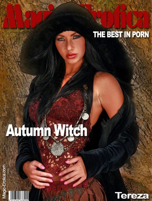Tereza - `Autumn Witch` - by Luis Durante for MAGIC-EROTICA