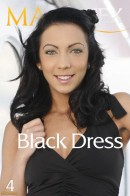 Abelia in Black Dress gallery from MAGIKSEX