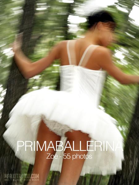 Zoe - `Primaballerina` - for MARKETA4YOU