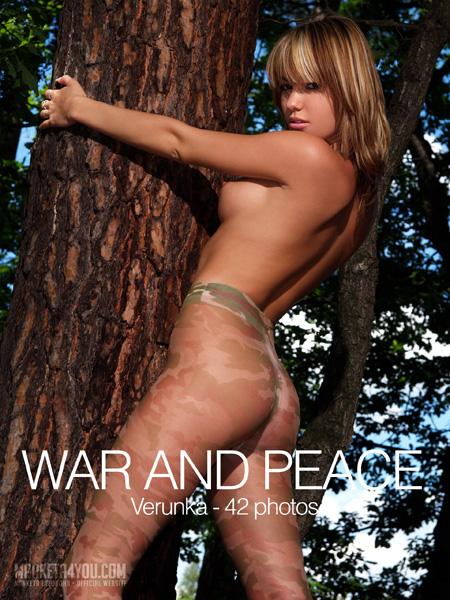 Verunka - `War and Peace` - for MARKETA4YOU