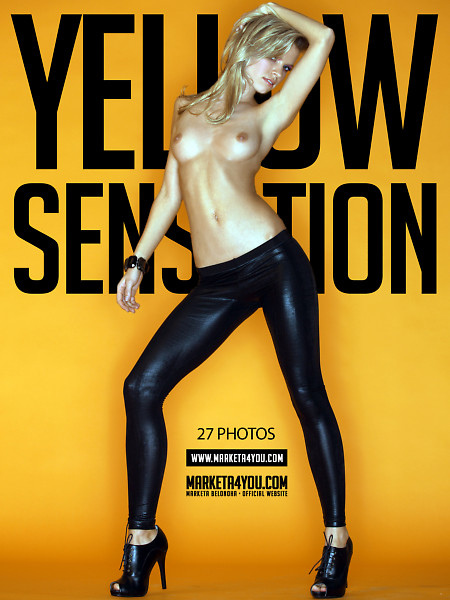Marketa Belonoha - `Yellow Sensation` - for MARKETA4YOU