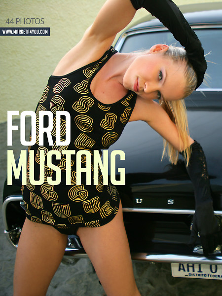 Marketa Belonoha - `Ford Mustang` - for MARKETA4YOU