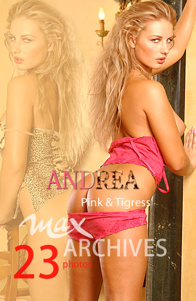 Andrea - `Pink and Tigress` - by Max Iannucci for MAXARCHIVES