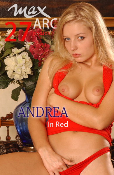 Andrea - `In Red` - by Max Iannucci for MAXARCHIVES
