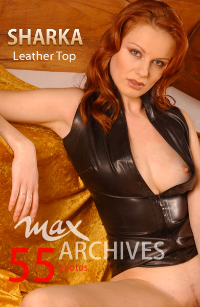 Sharka - `Leather Top` - by Max Iannucci for MAXARCHIVES