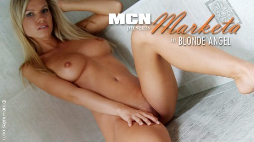 Marketa - `Blonde Angel` - for MC-NUDES VIDEO