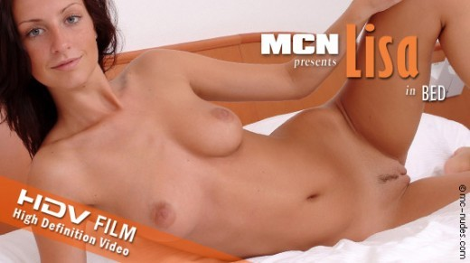 Lisa - `Lisa in Bed` - for MC-NUDES VIDEO