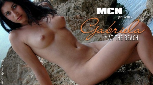 Gabriela - `At The Beach` - for MC-NUDES VIDEO