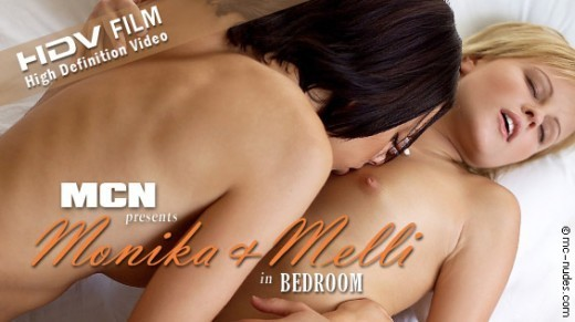 Monika & Melli - `Bedroom` - for MC-NUDES VIDEO
