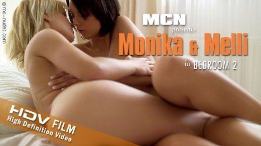 Monika & Melli - `Bedroom 2` - for MC-NUDES VIDEO