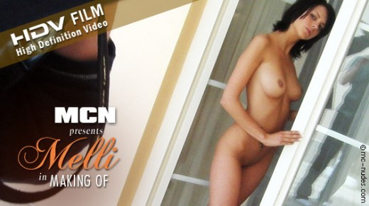 Melli - `Making Of` - for MC-NUDES VIDEO