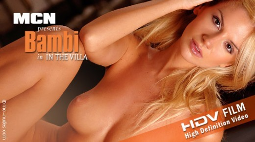 Bambi - `In The Villa` - for MC-NUDES VIDEO