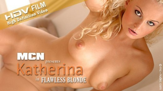 Katherina - `Flawless Blonde` - for MC-NUDES VIDEO