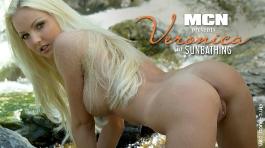 Veronica - `Sunbathing` - for MC-NUDES VIDEO
