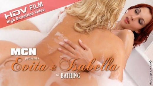 Evita & Isabella - `Bathing` - for MC-NUDES VIDEO