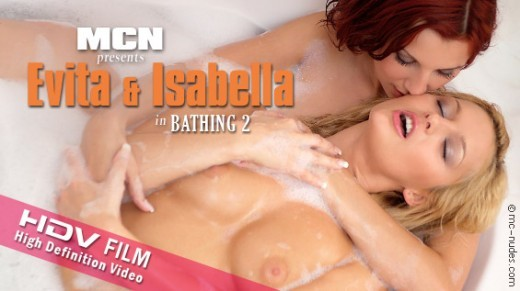 Evita & Isabella - `Bathing 2` - for MC-NUDES VIDEO