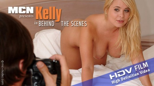 Kelly - `Behind The Scenes` - for MC-NUDES VIDEO