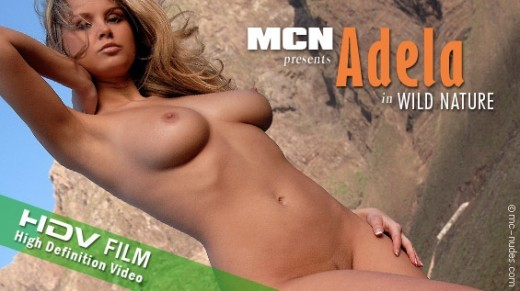 Adela - `Wild Nature` - for MC-NUDES VIDEO