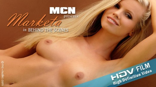 Marketa - `Marketa in Behind The Scenes` - for MC-NUDES VIDEO