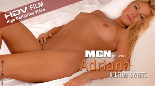 Adriana - `Bedtime Sweets` - for MC-NUDES VIDEO