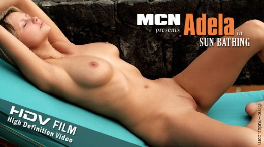 Adela - `Sun Bathing` - for MC-NUDES VIDEO