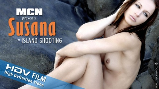 Susana - `Island Shooting` - for MC-NUDES VIDEO