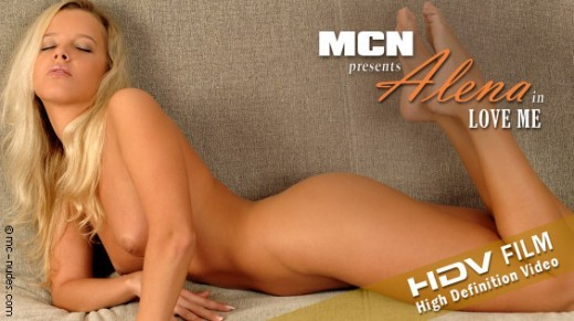 Alena - `Love Me` - for MC-NUDES VIDEO