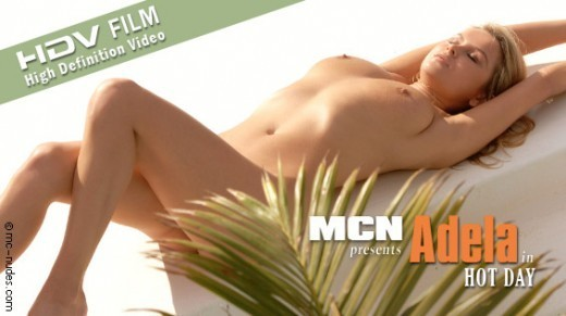 Adela - `Hot Day` - for MC-NUDES VIDEO