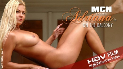 Adriana - `On The Balcony` - for MC-NUDES VIDEO