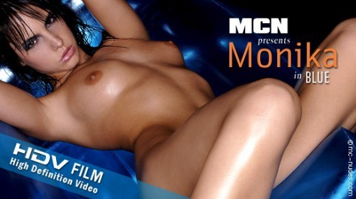 Monika - `Blue` - for MC-NUDES VIDEO