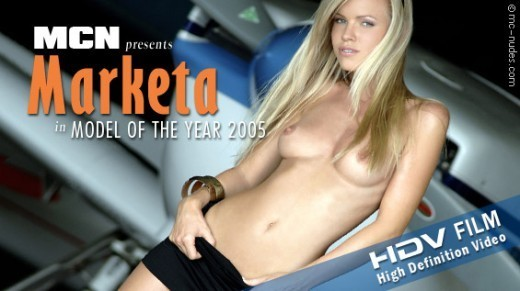 Marketa - `Model of the Year 2005` - for MC-NUDES VIDEO