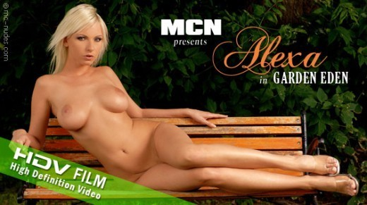 Alexa - `Garden Eden` - for MC-NUDES VIDEO